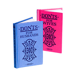 Don'ts for Husbands and Don'ts for Wives