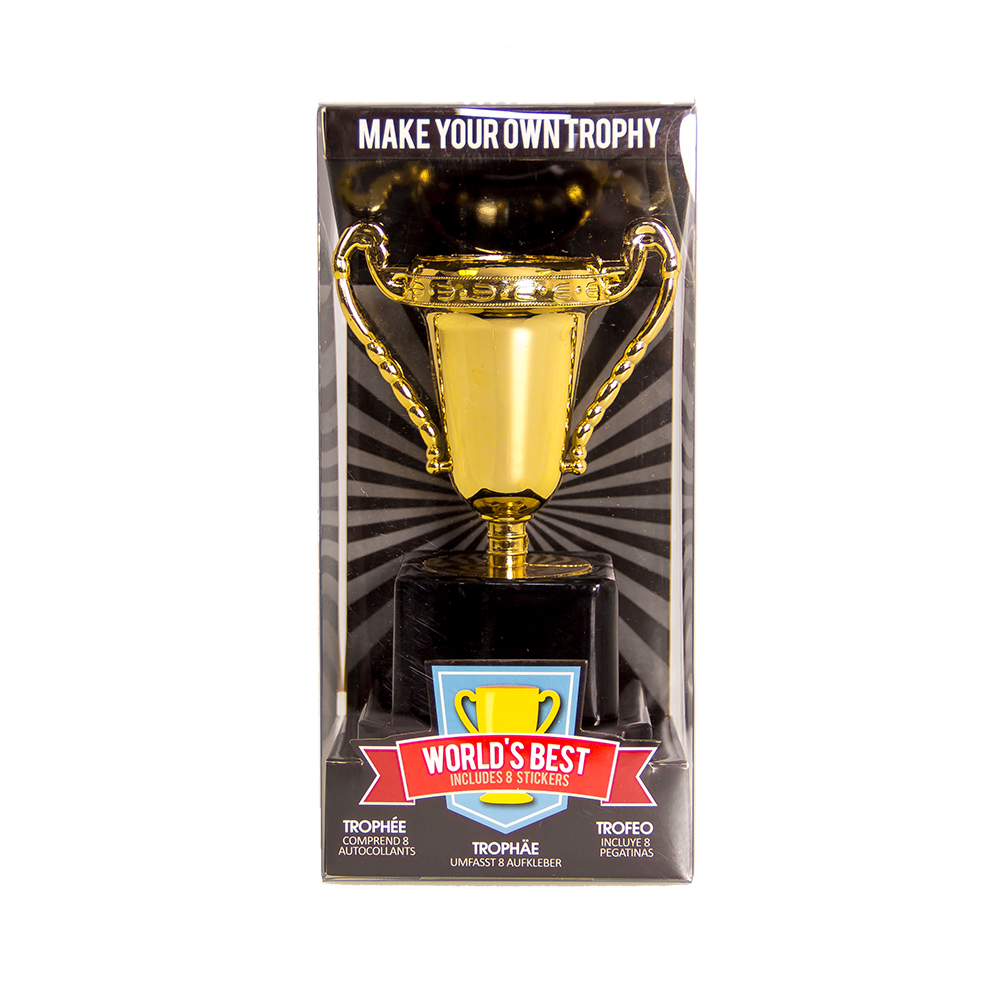 Office Trophy product in packaging