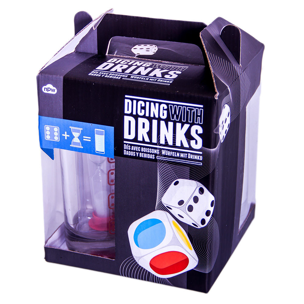 Dicing with Drinks game