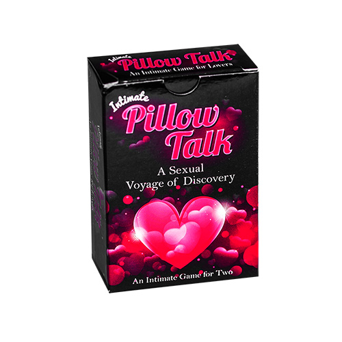 Pillow Talk Intimate Card Game box