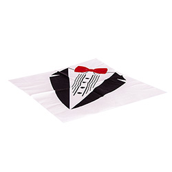Dress for Dinner tuxedo napkin