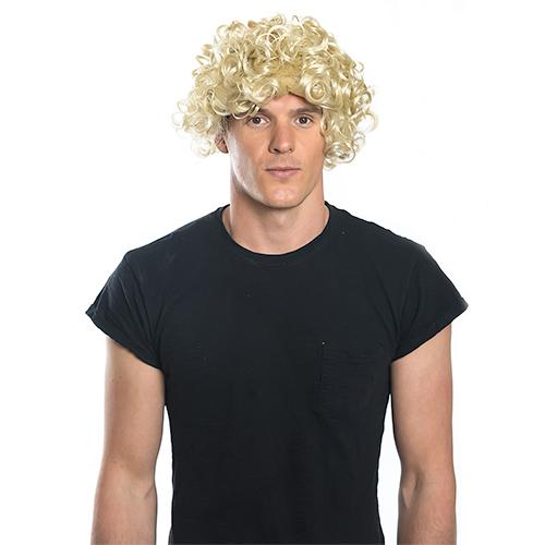 Blonde Curly Wig