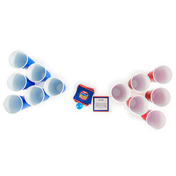 Party Pong kit with dare cards for above