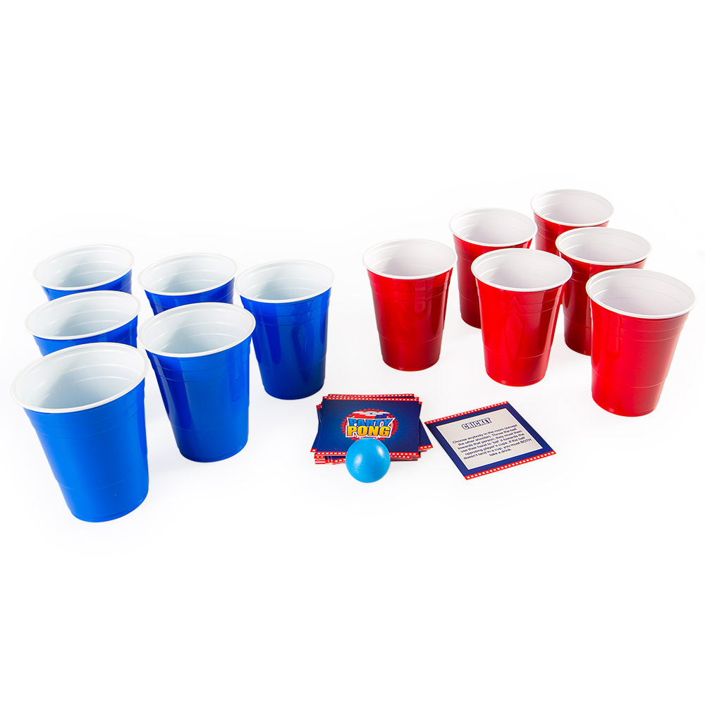 Party Pong kit with dare cards