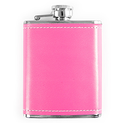 Fabulous pink hip flask