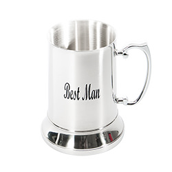 The best man will seriously thank you for this beer tankard
