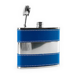 The Blue Pan Hip Flask