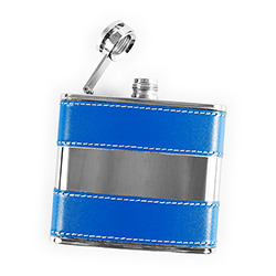 Screw-top hip flask