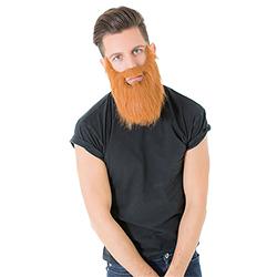A model wearing the beard