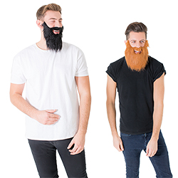 Two bearded mates together