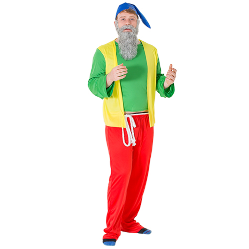 Bashful gnome costume