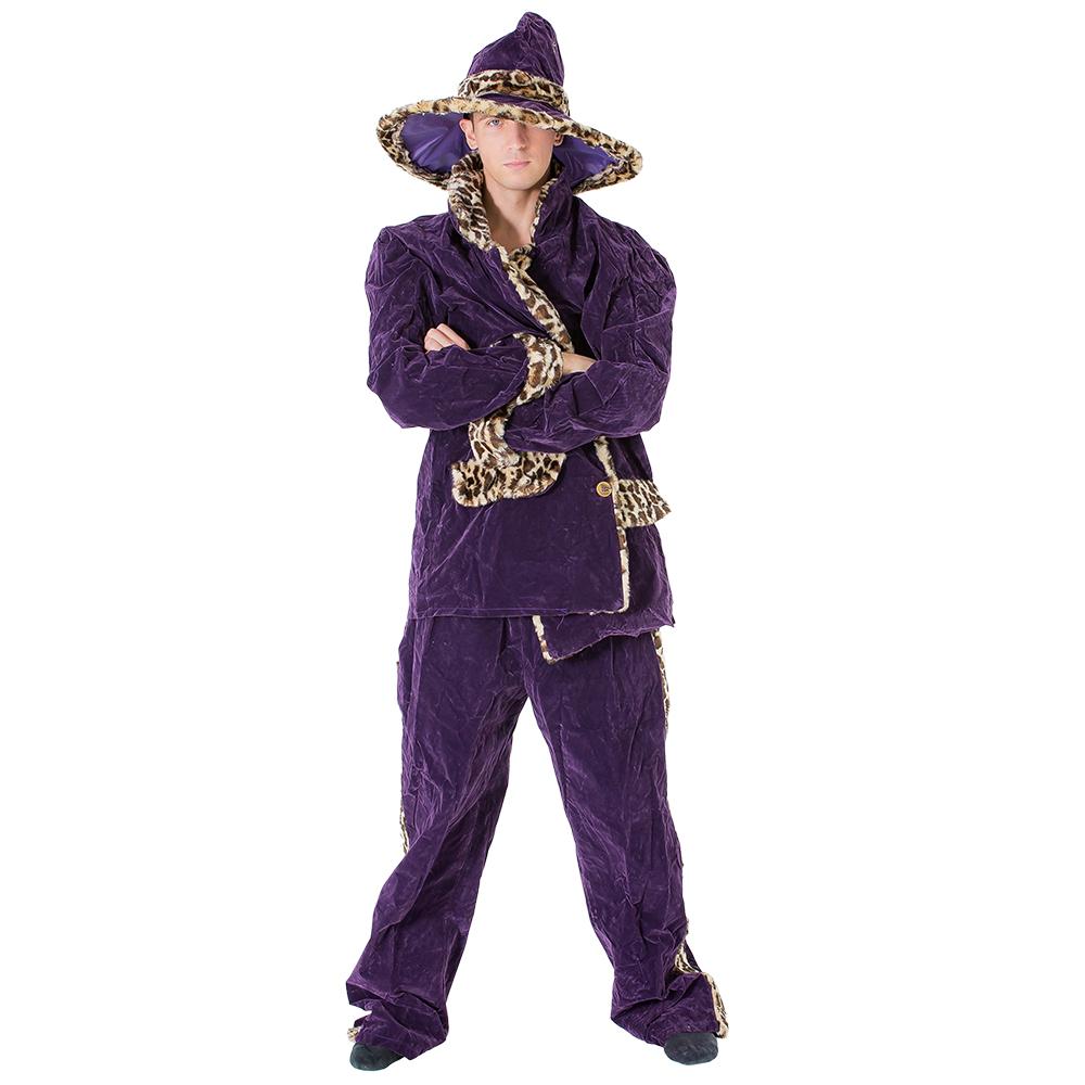 Classic purple pimp outfit