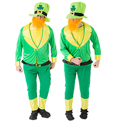Two Leprechauns next to each other