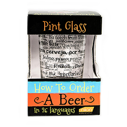 How to Order a Beer Pint Glass packaging