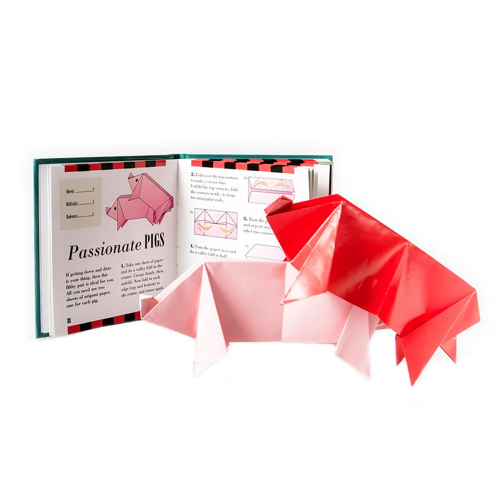 Passionate Pigs Rude Origami