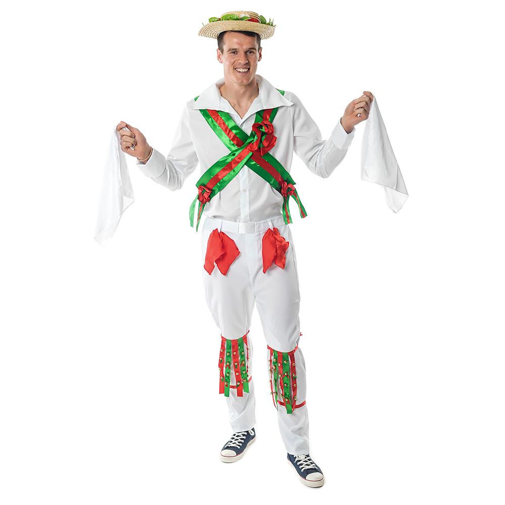 Front Of Hilarious Morris Dancer Costume