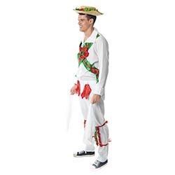 Side Of Morris Dancer Costume