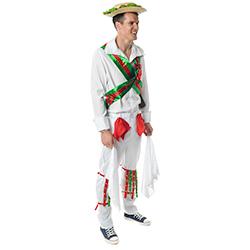 Morris Dancer Costume side view