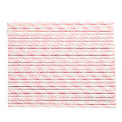 25 Princess Party Paper Straws