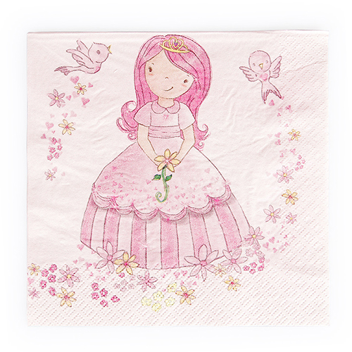 Princess party napkin