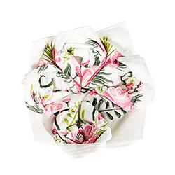Fancy Floral Best Day Ever Napkins