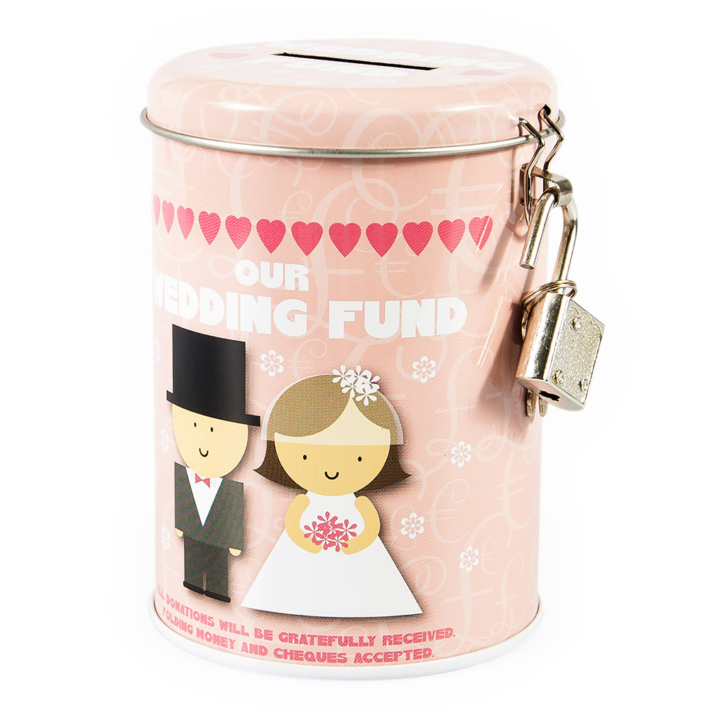 Our Wedding Fund Tin