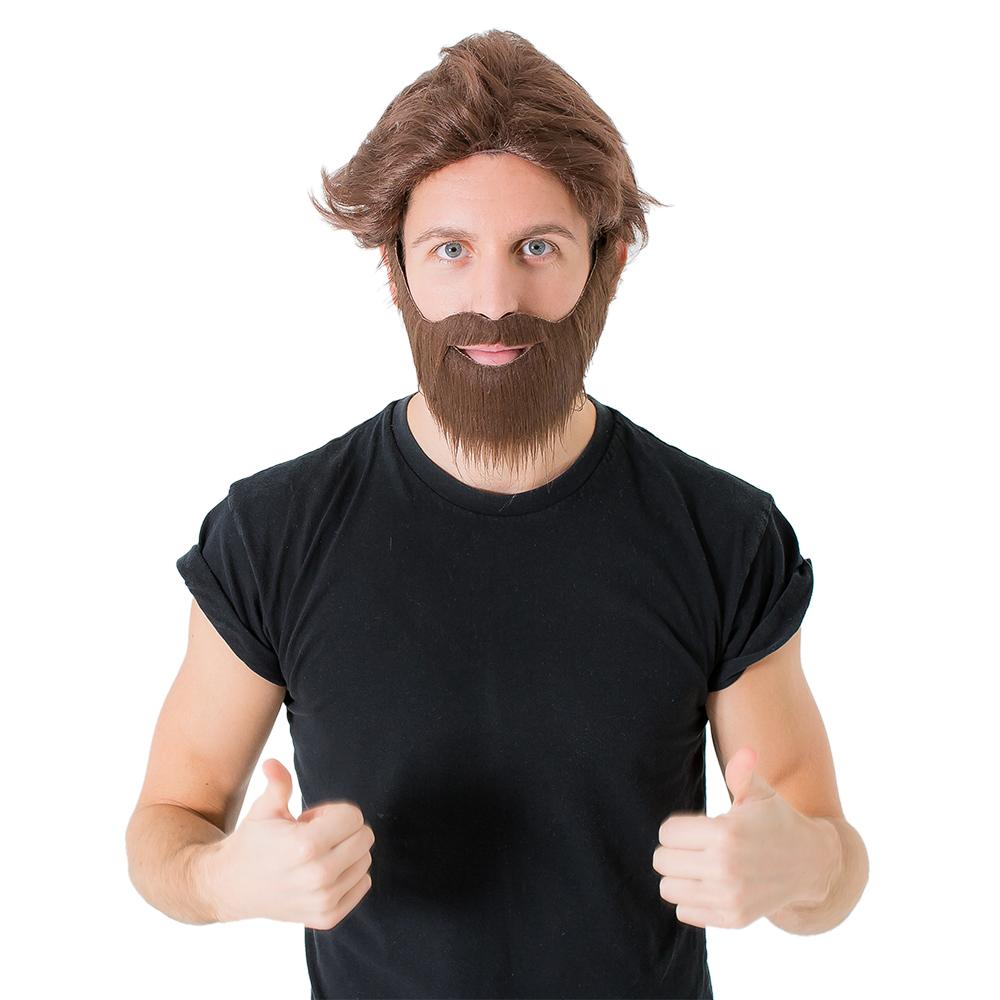 Hangover wig and beard
