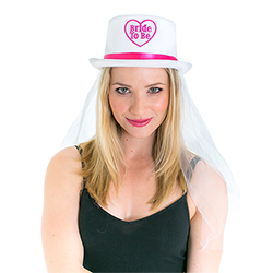 Hats off to the bride to be!