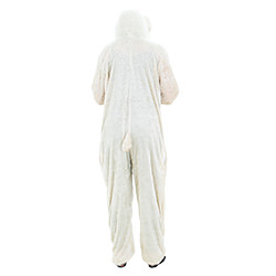 The back of the lamb costume