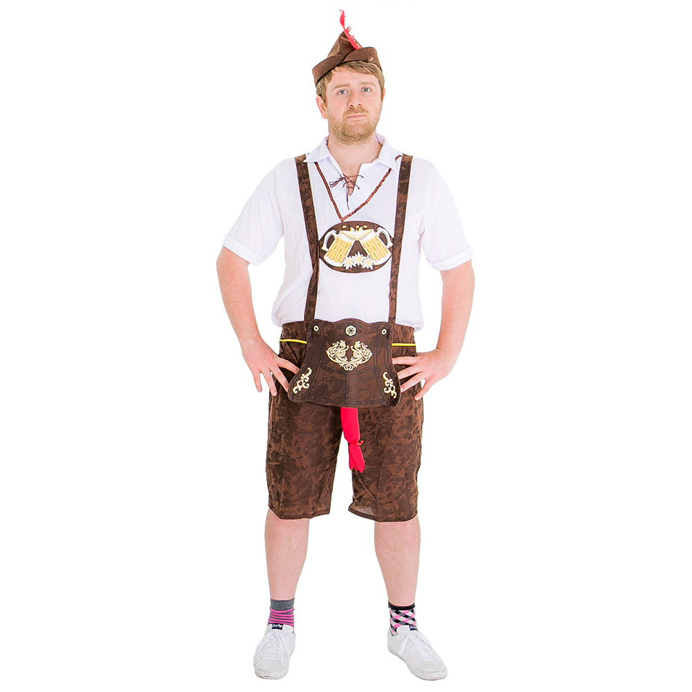 Brad Wurst lederhosen costume