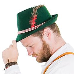 Classic Bavarian style hat