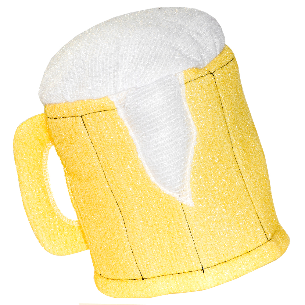 The gold beer mug hat