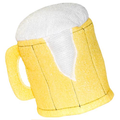 The gold beer mug hat