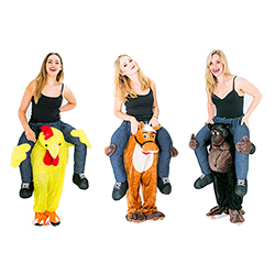 The Carry Me Chicken, Carry Me Horse and Carry Me Gorilla