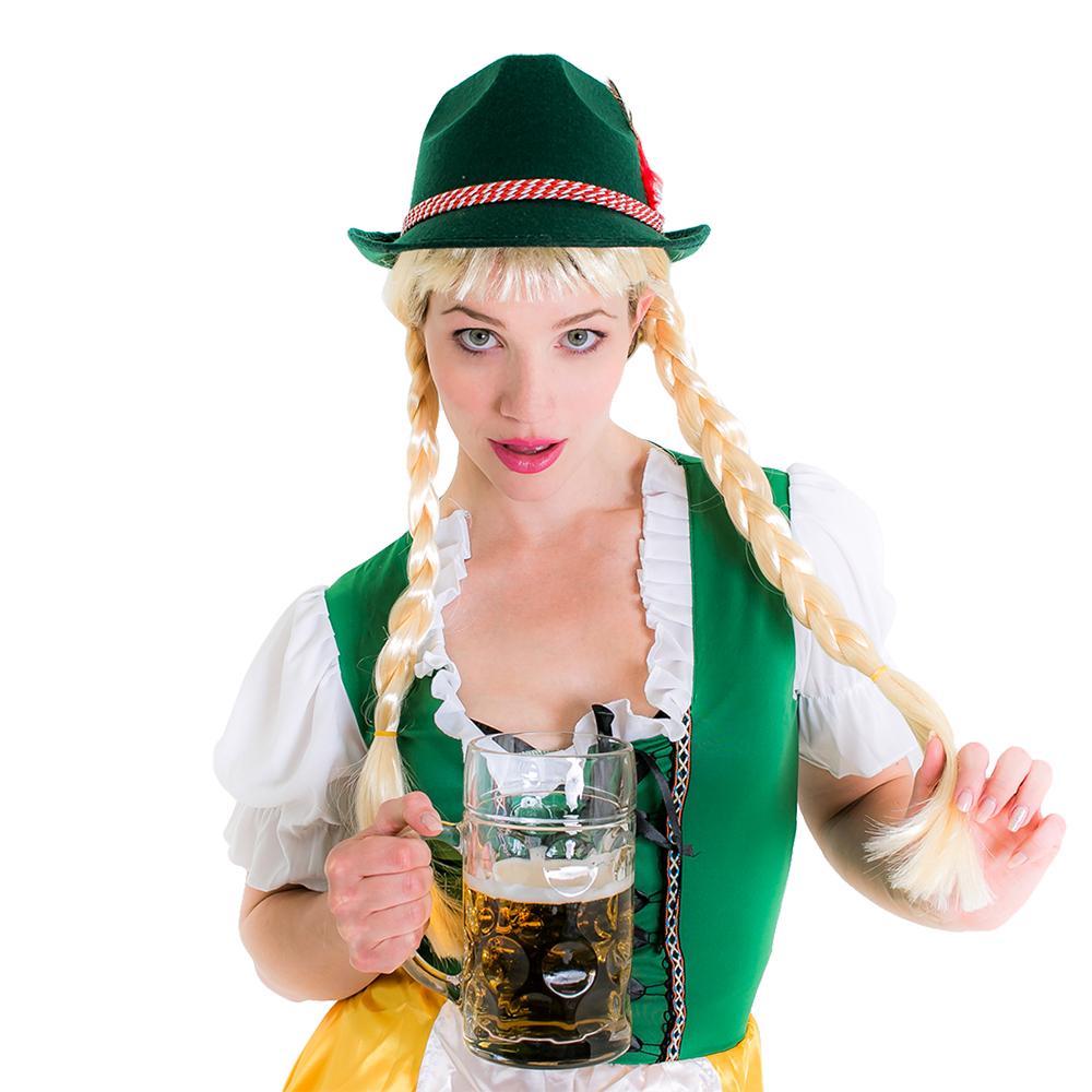 Deluxe Bavarian Oktoberfest Hat