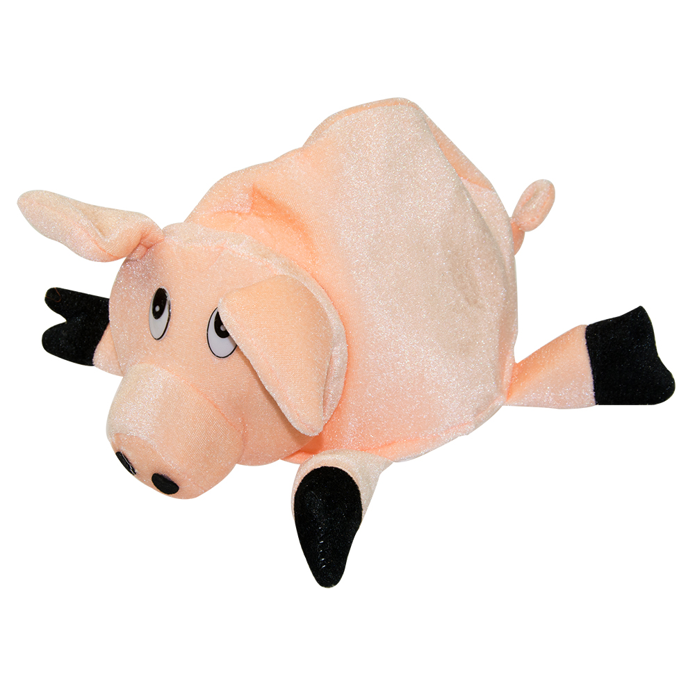 Pig hat front view