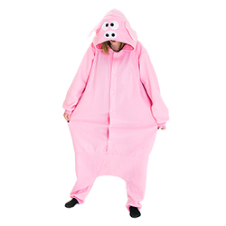 Pig costume full body picture
