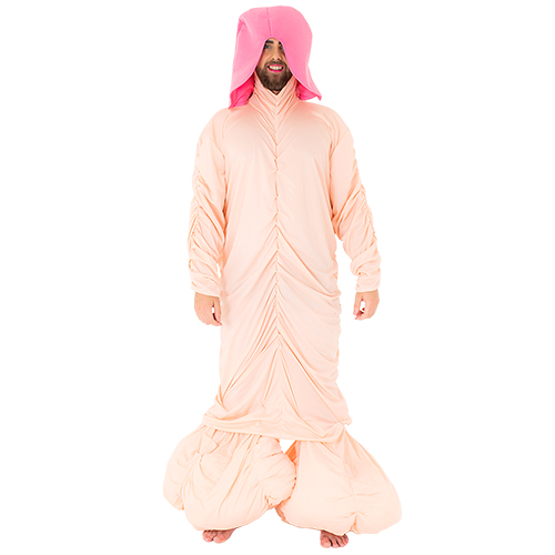 Stag do deluxe penis costume from front