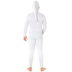 Sperm costume modelled from back