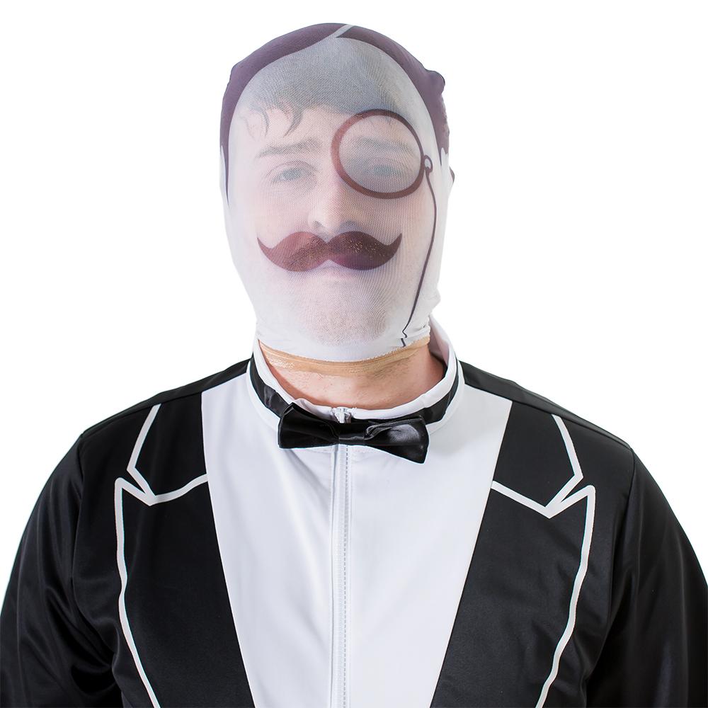 Male model wearing gentleman's disguise