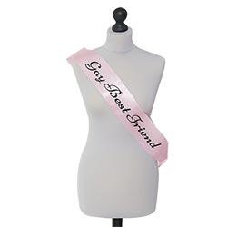 Smashing pink sash-ing