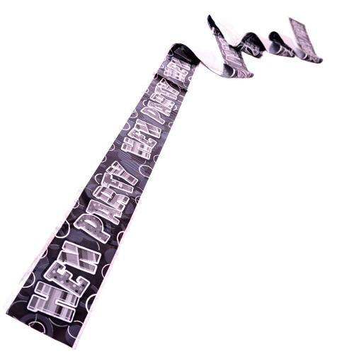 Bumper black banner