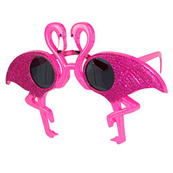 Side Angle Of Flamingo Sunglasses