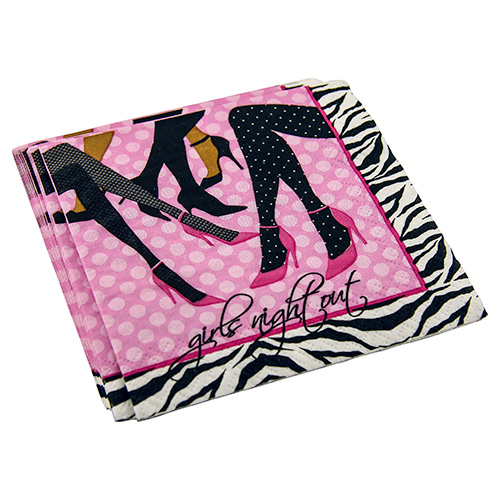 Girls Night Out Paper Napkins
