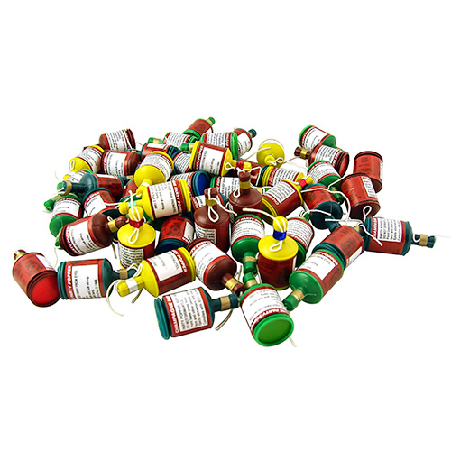 Pile Of Fifty Party Poppers
