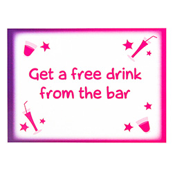 Hen Party Dare Cards Free Drink