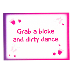 Hen Party Dare Cards Grab A Bloke