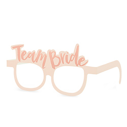 One pair of Team Bride Glasses