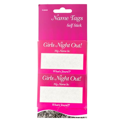 A pack of 'Girls Night Out' stickers