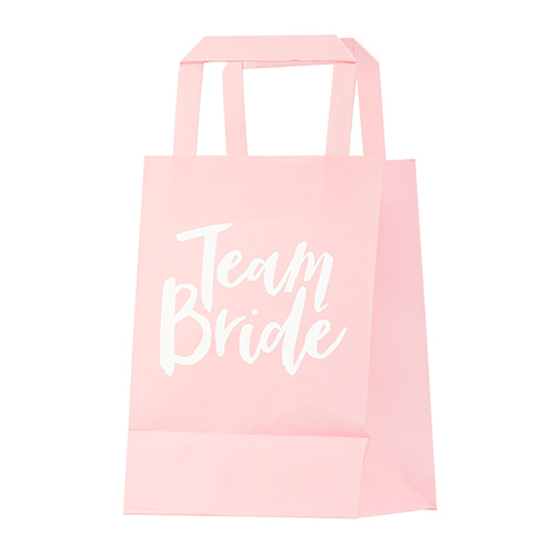 Pink team bride bag